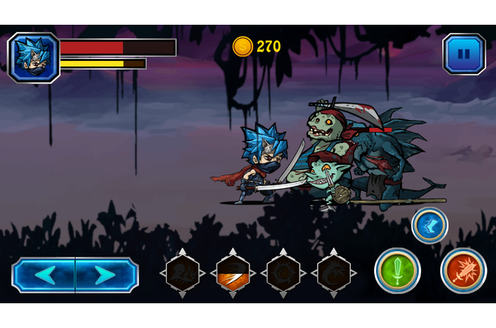 ninja borbe