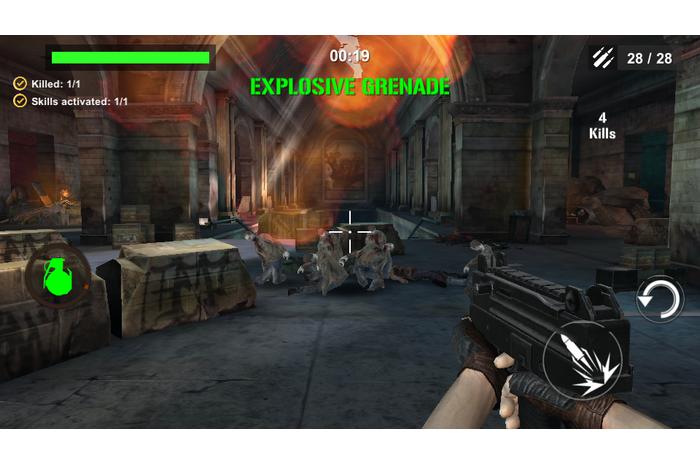 DEAD karas: Zombie