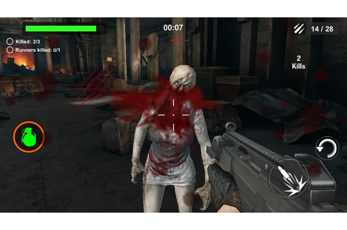 לוחמת DEAD: זומבי