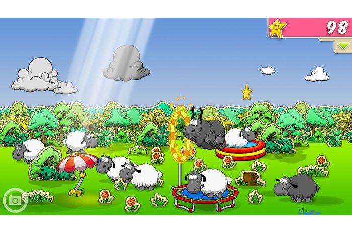 Nuages et moutons