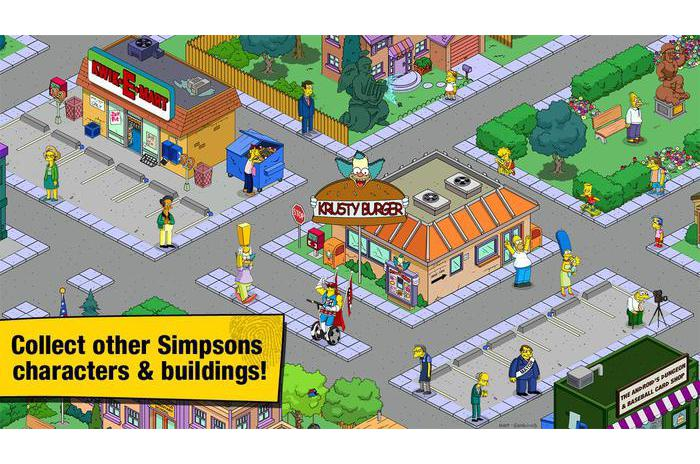 The Simpsons: набра