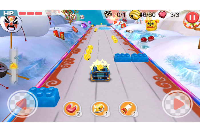 Speed ​​Kart City Race 3D