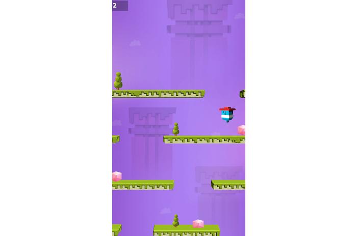 Pixel gutt