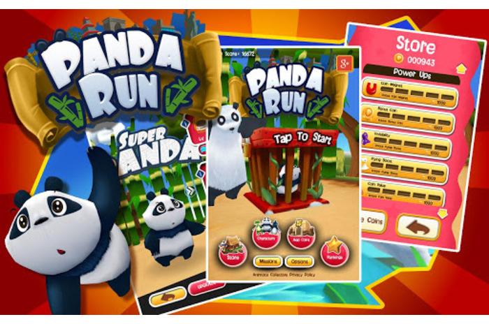 Panda Pradėti