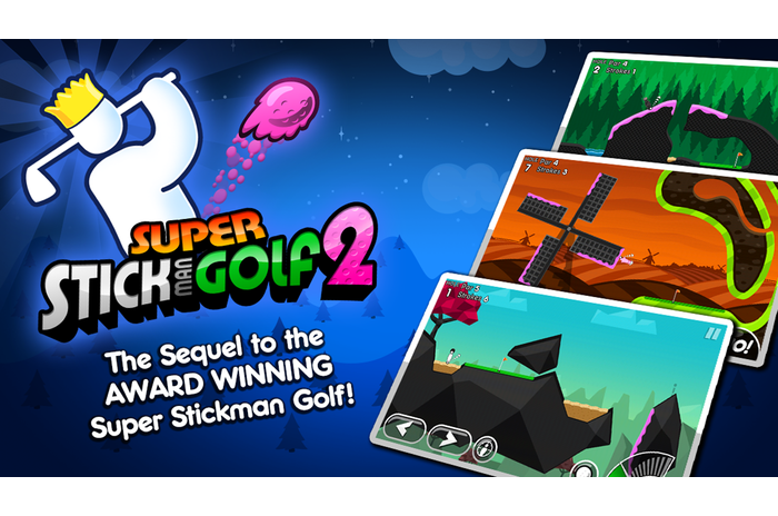 Súper Stickman Golf 2