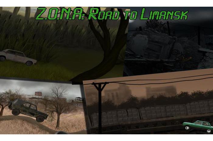 ZONA Camino a Limansk