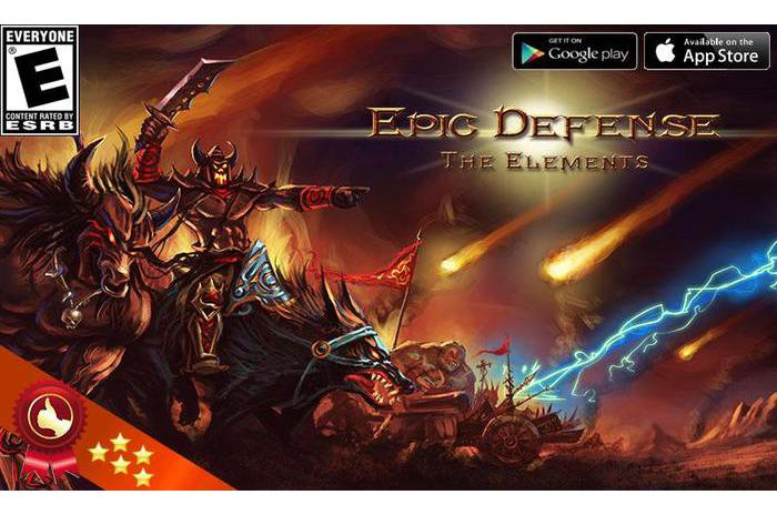 Epic Defense - elementy