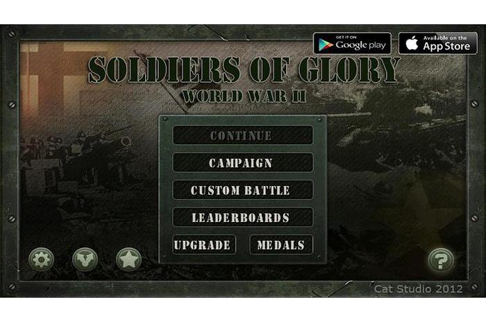 Karavīri slavas: World War 2 (Soldiers of Glory - World)