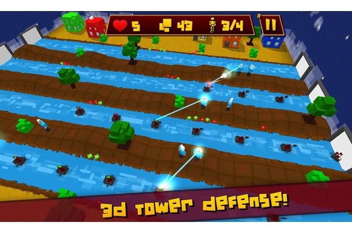 Block Defender: Tower Defense