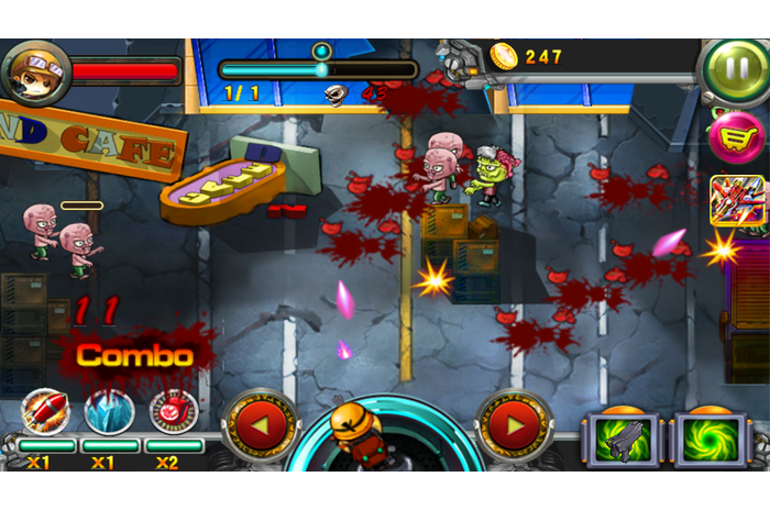 Zombie Dead Defensa