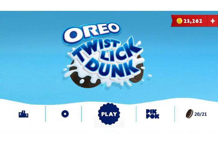 OREO: Twist, Slicka, Dunk