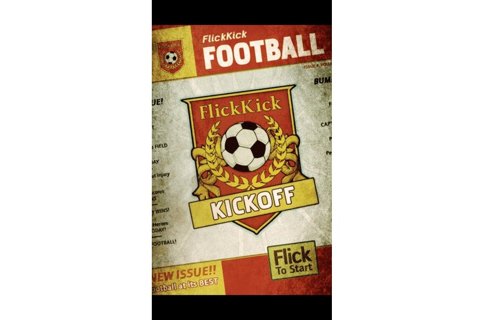 Flick Coup Football Kickoff