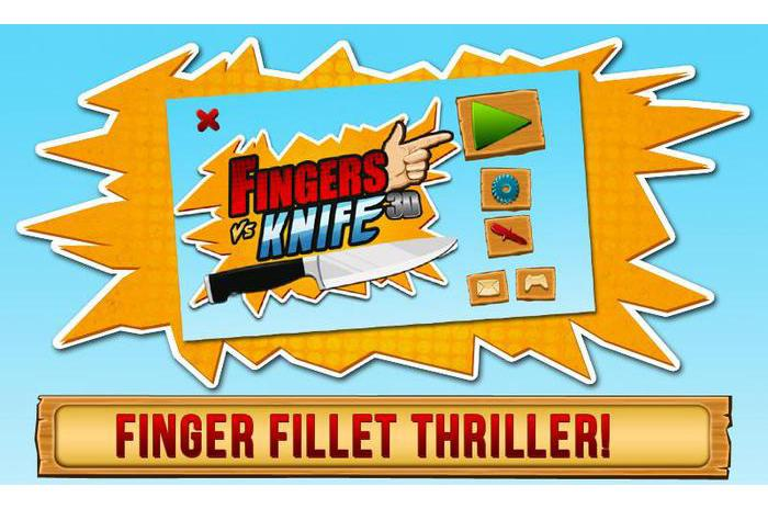 Fingers Vs Knife 3D