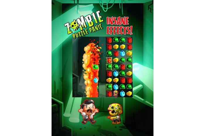 Zombi Puzzle panika