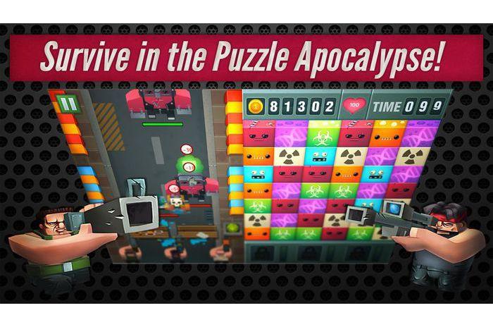 Inwazja zombie Puzzle