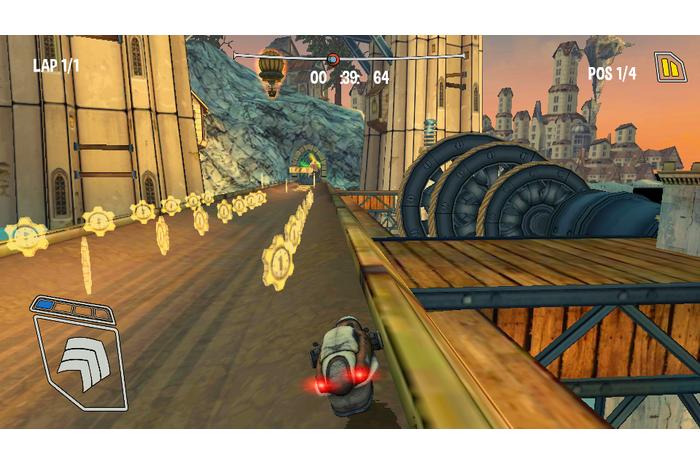 Steampunk lenktynės