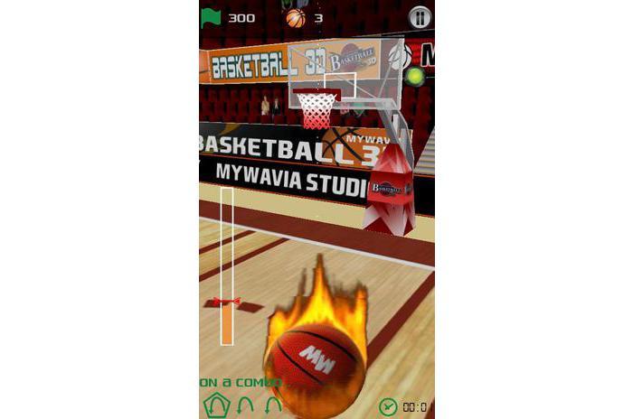 บาสเกตบอลเกมส์ - เกมส์ 3D