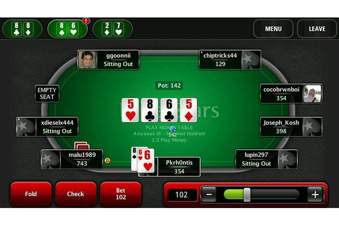 PokerStars.net Pokeris