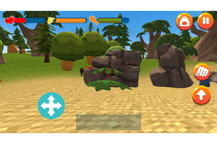 3D Island Survival Simulator