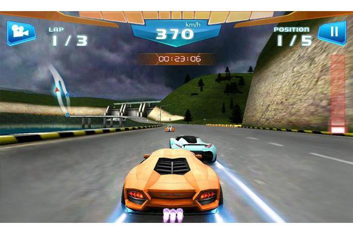Rapide Racing 3D (Racing 3D)