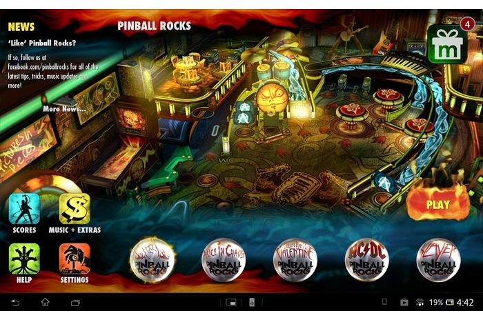 Pinball HD Rocks