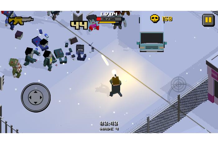 Cube War Zombie
