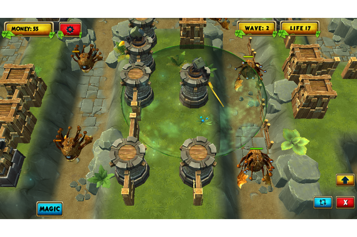 Legendarul Tower Strategia TD 3D