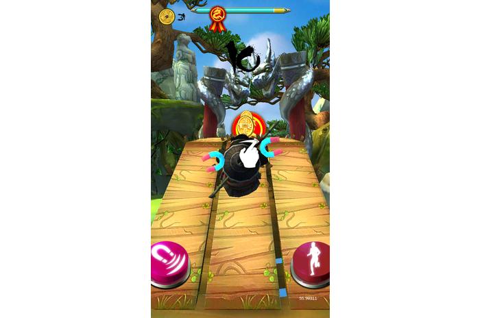 Ninja Panda Run-Ninja Exam