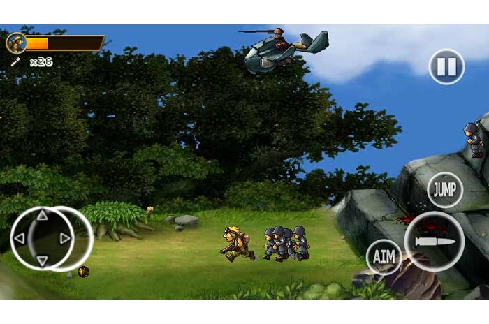 Soldați Rambo 2 - război Forest