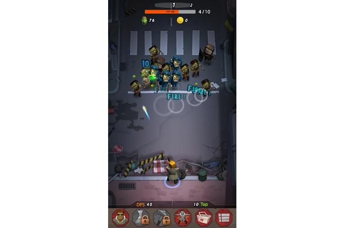 Zap Zombies: Clicker Bala