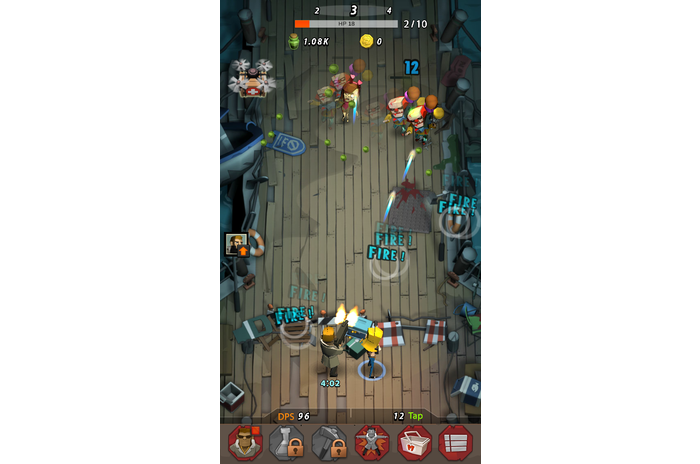 Zap Zombies: Bullet kliker