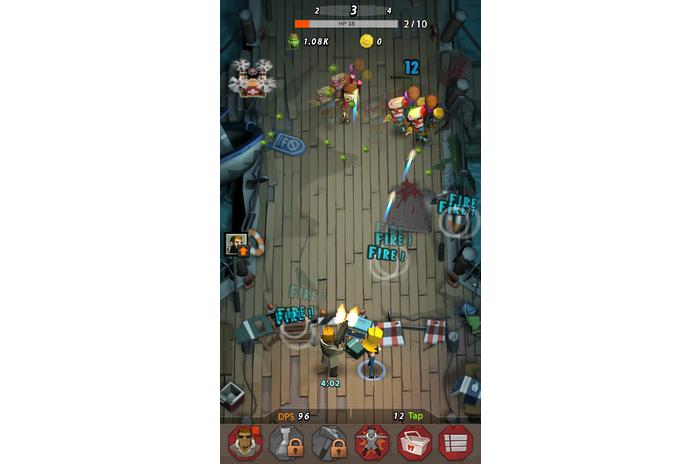 Zap Zombies: Bullet Clicker