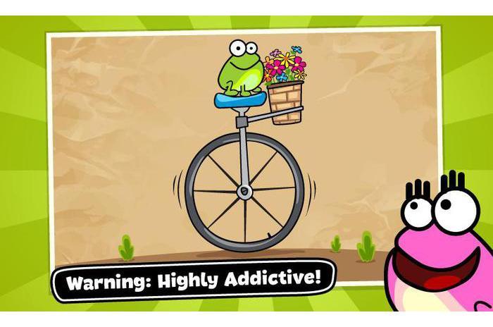 Докоснете жабата: Doodle
